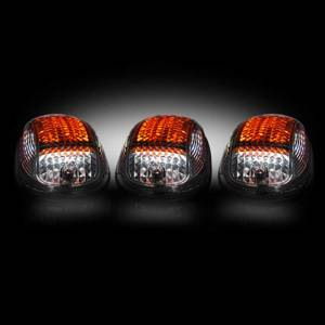 RECON Smoked LED Cab Roof Lights w/Strobe | 2003-2016 Dodge Ram | Dales Super Store