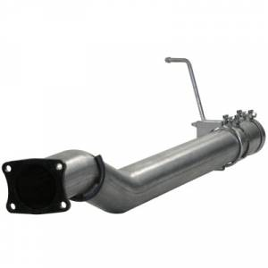 aFe Power - AFE 49-44027 | LARGE Bore HD SS DPF Race Pipe - GM 6.6L Duramax LML 11-16