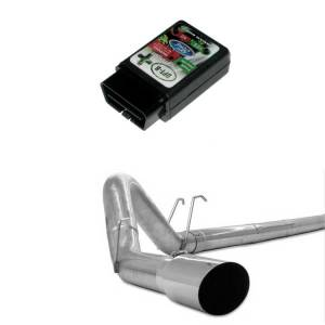 """GearBoxZ DPF-R PLUS Programmer & 4"""" Stainless Downpipe Back 
