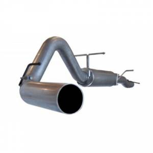 "aFe Power - AFE 49-13003 | LARGE Bore HD SS 4"" Cat Back w/ Muffler - Ford 6.0L Powerstroke 03-07"