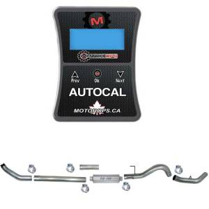 """Motor Ops Auto Cal & 5"""" Turbo Back Single Exhaust 