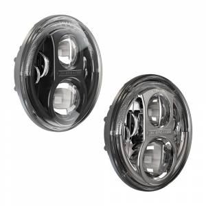 JW Speaker Evolution LED Headlights | 8700 J Series | Jeep Wrangler JK 2007-2016 | Dale's Super Store