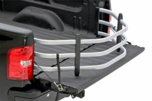 AMP Research - Innovation in Motion - Amp Research BEDXTENDER HD Full Size Deep Bed Trucks Silver Ford F-150 2004-'12 >>excludes Heritage/Stepside/Flareside<< (optional no-drill bracket available - part # 74602-01A)