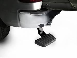 AMP Research - Innovation in Motion - Amp Research 09-12 DODGE PICKUP BEDSTEP FOR DUAL EXHAUST VERSIONS ONLY (BLACK)