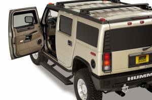 AMP Research - Innovation in Motion - Amp Research Power Step HUMMER H2 & H2 SUT 03-08 Black