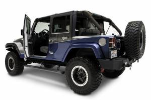 AMP Research - Innovation in Motion - Amp Research PowerStep™ | Jeep Wrangler JK 4-Door 2007-2016 | 75122-01A