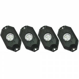 Outlaw Lights High Power LED Rock Lights (4 pack) | Universal Fitment