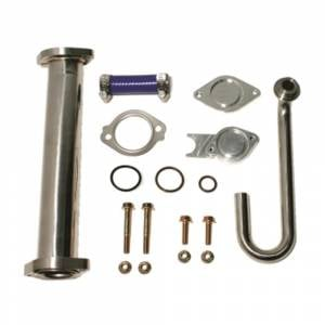 Flo-Pro EGR Cooler & Valve Race Kit w/Up-Pipe | 6.0L Ford Powerstroke 2003-2007 | EGR60 | Dales Super Store