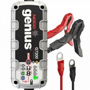 NOCO 7.2 Amp UltraSafe Smart Battery Charger | 12V & 24V | G7200 | Dale's Super Store