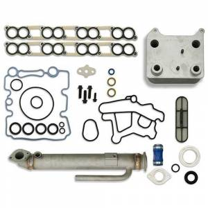 Sinister Diesel Basic Solution w/Round Cooler | 6.0L Ford Powerstroke 2003-2007 | Dale's Super Store