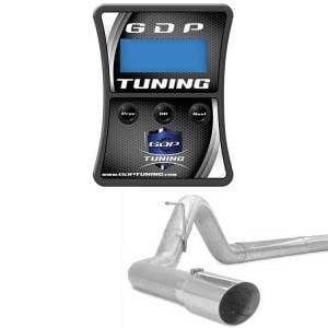 "GDP Tuning EFILive Autocal and 4"" Stainless Turbo Back 