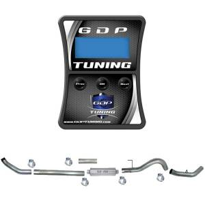 "GDP Tuning EFILive Autocal and 4"" Turbo Back Single Exhaust 