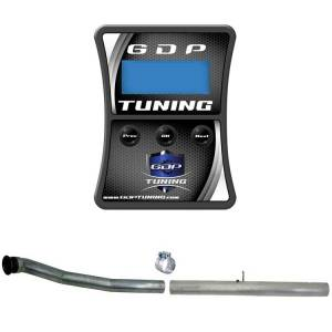 "GDP Tuning EFILive Autocal and 4"" CAT/DPF Race Pipe 