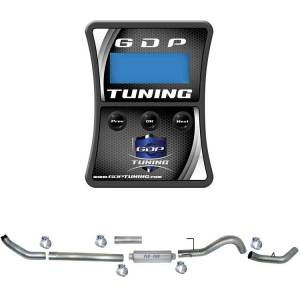 "GDP Tuning EFILive Autocal and 5"" Turbo Back Single Exhaust 