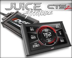 The Edge Juice w/ Attitude controls timing and duration of injection firing on your 1998.5-2000 Cummins with 6 on-the-fly adjustable power levels