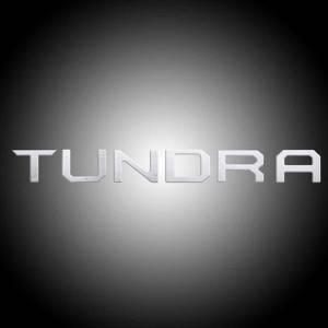 RECON Chrome Raised Letter Tailgate Inserts | 2014-2017 Toyota Tundra | Dale's Super Store