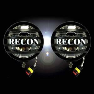 "Recon 4"" Round 18-Watt LED Driving Lights | 2pc Kit | 264517 | Dale's Super Store"