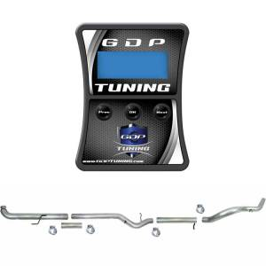 "GDP Tuning EFILive Autocal & 5"" Downpipe Back w/No Muffler 