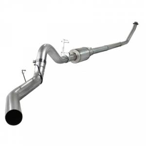 "aFe Power - AFE 49-02001 | ATLAS 4"" Turbo Back w/ Muffler - Dodge 5.9L Cummins 94-02"