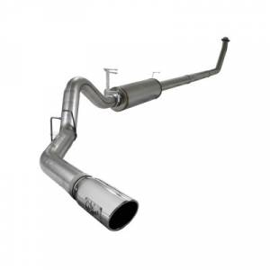"aFe Power - AFE 49-42001 | MACH Force XP SS 4"" Turbo Back w/ Muffler - Dodge 5.9L Cummins 94-02"