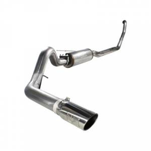 "aFe Power - AFE 49-43001 | MACH Force XP SS 4"" Turbo Back w/ Muffler - Ford 7.3L Powerstroke 94-97"
