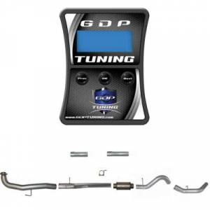 """GDP Tuning - GDP Tuning EFILive Autocal and 4"""" Downpipe Back No Muffler 