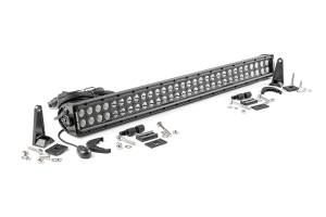 Rough Country 30-Inch Cree LED Light Bar (Dual Row | Black Series) | Dale's Super Store