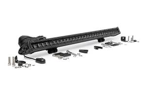 Rough Country 30-Inch Cree LED Light Bar (Single Row | Black Series) | Dale's Super Store