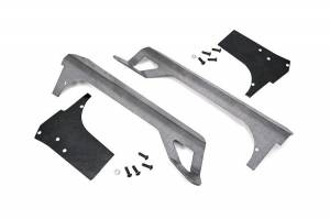 Rough Country 50-Inch Straight LED Light Bar Upper Windshield Mounts   1997-2006 Jeep Wrangler TJ   Dale's Super Store
