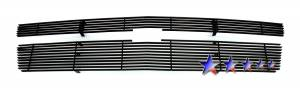 Dale's - C66451H - Dale's Main Upper Black Powder Coated Aluminum Billet Grille - 2007-2014 Chevy Tahoe
