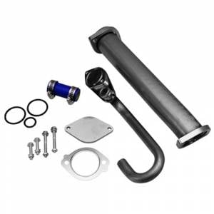 Outlaw Diesel EGR Cooler Delete Kit | 2003-2007 6.0L Ford Powerstroke | Dale's Super Store