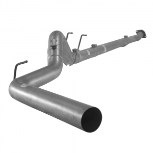 """Flo~Pro 4"""" Downpipe Back No Muffler 