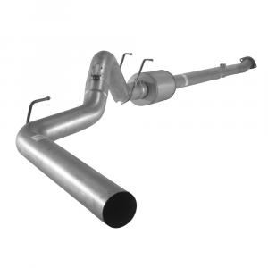 "Flo~Pro 4"" Downpipe Back w/Muffler 