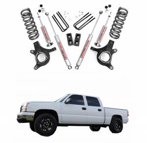 Rough Country - Rough Country 4.5 In Suspension Lift Kit for 1999-2006 GM 1500 PU 2WD