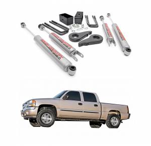 Rough Country - Rough Country 1.5-2.5 In Leveling Lift Kit for 1999-2007 GM 1500