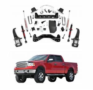 Rough Country - Rough Country 6 In Suspension Lift Kit for 2004-2008 Ford F150 4WD