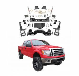 Rough Country - Rough Country 6 In Suspension Lift Kit for Ford 2009-2010 F-150 4WD