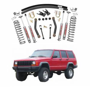 Rough Country - Rough Country 4.5 In Suspension Lift Kit for 1984-2001 Jeep Cherokee XJ 4WD
