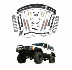 Rough Country - Rough Country 4.5 In X-Series Suspension Lift System for 1984-2001 Jeep Cherokee XJ 4WD