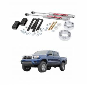 Rough Country 3 In Suspension Lift Kit for 2005-2017 Toyota Tacoma | 745N2