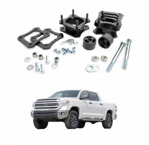 Rough Country - Rough Country 2.5-3in Leveling Kit | 2007-2018 Toyota Tundra 4WD