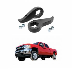 Rough Country 1.5-2 In Leveling Torsion Bar Keys for 2011-2018 Sierra/Silverado 2500HD/3500HD | Dale's Super Store