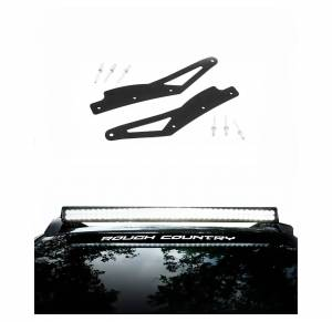 Rough Country - Rough Country 40-inch Curved LED Light Bar Roof Rack Mounts | 2005-2015 Toyota Tacoma
