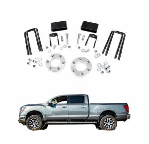 Rough Country - Rough Country 2 In Leveling Lift Kit for 2016-2017 Nissan Titan XD 4WD