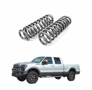 Rough Country 1.5 Inch Leveling Coil Springs | 2005-2017 F250/F350 4WD | Dale's Super Store