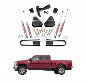 Rough Country 3 Inch Suspension Lift Kit | 2017 F250 4WD | Dale's Super Store