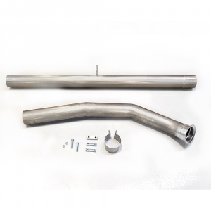 """Outlaw Diesel 4"""" Stainless Steel CAT & DPF Race Pipes 