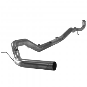 "Flo~Pro Stainless 4"" Downpipe Back Single Exhaust w/No Muffler 