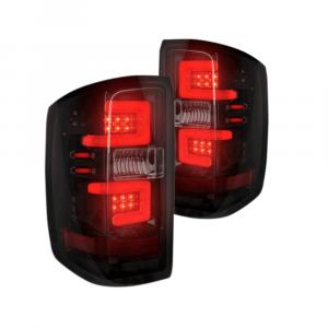RECON Smoke LED Tail Lights | 2014-2017 Chevy Silverado Single-Wheel/Dually & 2015-2017 GMC Sierra Dually | Dale's Super Store
