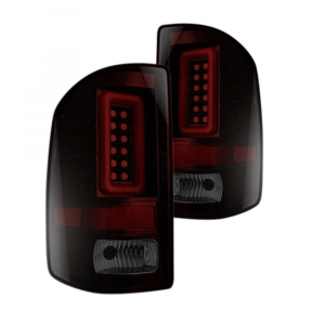 RECON Red Smoke LED Tail Lights | 2014-2017 GMC Sierra Single-Wheel | Dale's Super Store